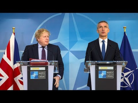 NATO Secretary General with UK Foreign Secretary Boris Johnson, 19 MAR 2018