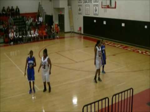 Chatham High School vs Dan River Girls Basketball 2015 - 2016 (3rd Quarter)