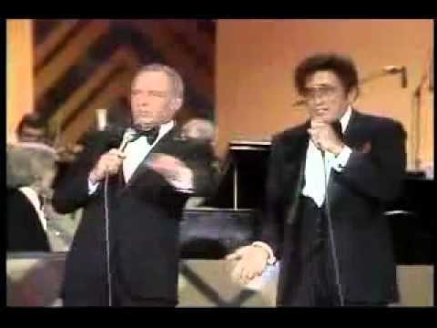 Frank Sinatra Tony Bennett My Kind Of Town Youtube Youtube