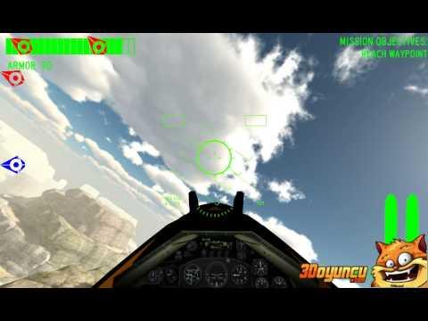 3D Savaş Uçağı Pilotu - 3D Oyunlar - 3D Uçak Oyunları
