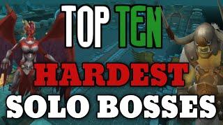 Top 10: Hardest Solo Bosses! [Runescape 2015]