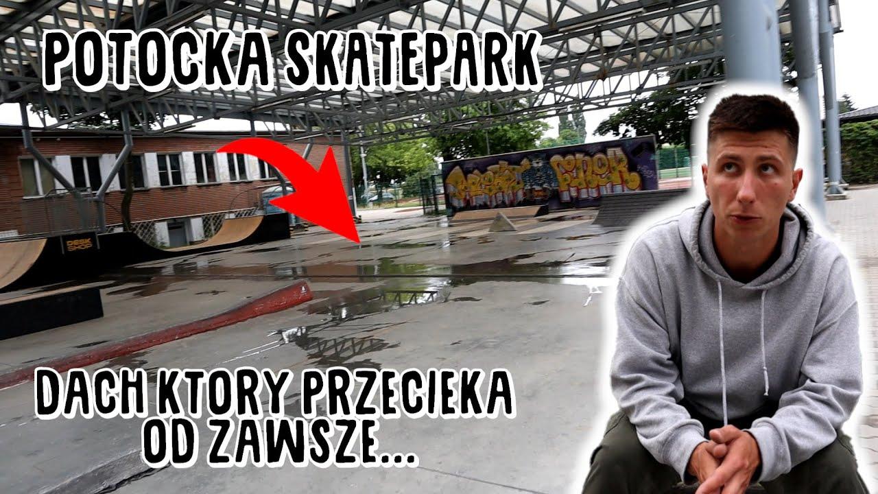 KRYTY SKATEPARK W WARSZAWIE? skatepark potocka! TESTUJEMY SKATEPARKI
