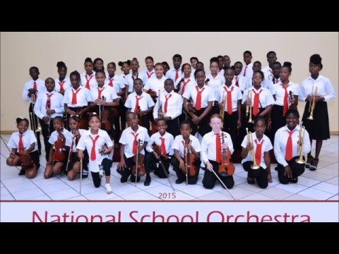 Grenada National School Orchestra 2015