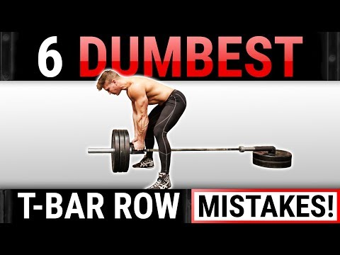 6 Dumbest T-Bar Row Mistakes Sabotaging Your Back Growth! STOP DOING THESE!