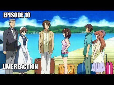 The Melancholy of Haruhi Suzumiya Episode 10 Reaction