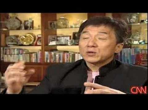 CNN Interview of HK Star Jacky Chan on Tibet issue Travel Video