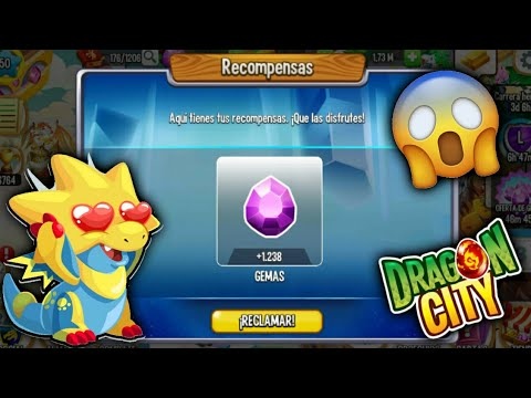 Como Conseguir 1000 Gemas Gratis En Dragón City Youtube