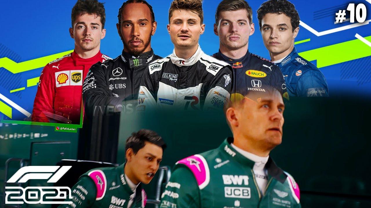 Starke Rennen aber der STREIT ESKALIERT | F1 2021 #10