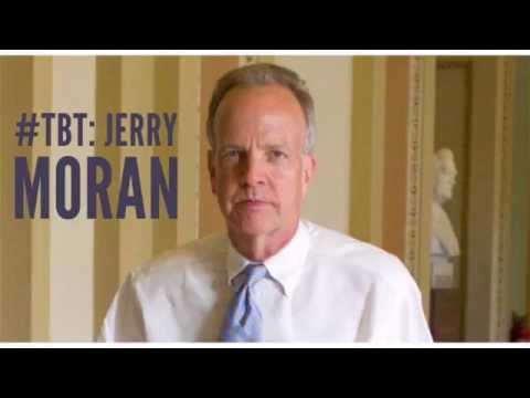 Jerry Moran l #TBT Series I Kansas Democratic Party