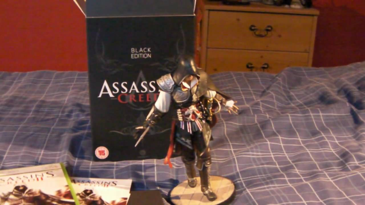 "7/"" MASTER ASSASSIN/'S CREED II EZIO  ACTION FIGURE FIGURINES STATUE MODEL TOY"
