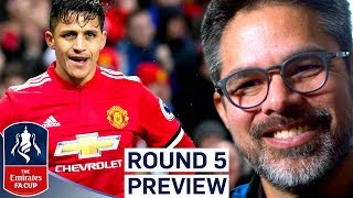 Will Man Utd be Beaten by Huddersfield Again? | R5 Preview | Emirates FA Cup 2017/18