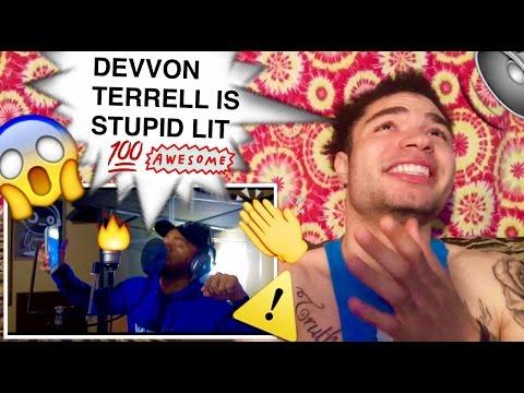 DEVVON TERRELL MAN DOWN (Behind The Weirdo) REACTION !