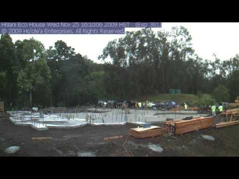 Hi'ilani House Foundation Concrete Pour