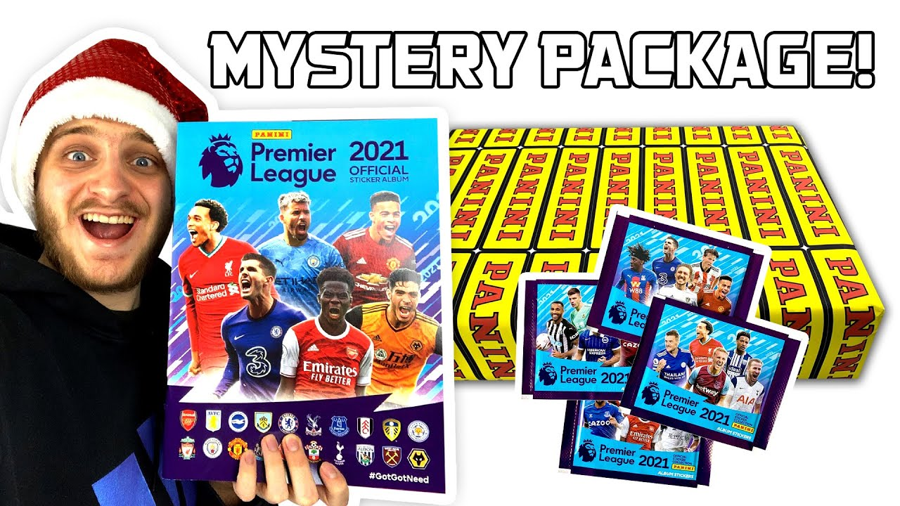 Panini Sent Me An Epic Package Premier League 2021 Stickers First Look Youtube