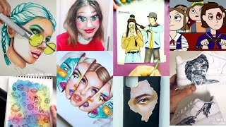 ART Tik Tok Compilation | 6 Minutes of Tiktok Artists Created