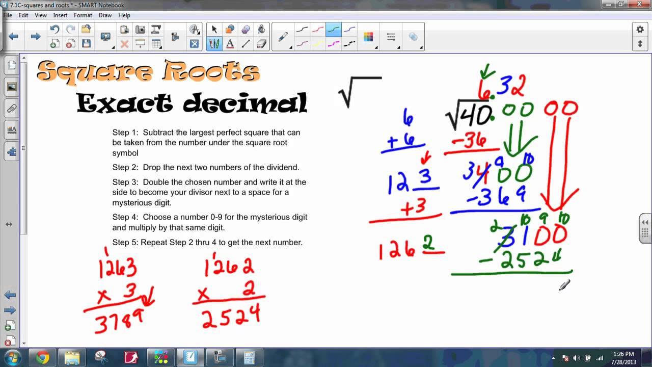 Under square symbol images symbol and sign ideas square roots exact decimal youtube square roots exact decimal buycottarizona buycottarizona