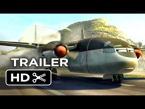 Planes: Fire & Rescue Official Trailer #1 (2014) - Disney Sequel HD