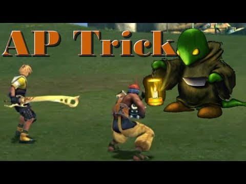 Don Tonberry AP Trick {99 Levels in 1 Fight} Final Fantasy X Remastered