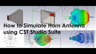 How to Simulate Horn Antenna using CST Studio Suite
