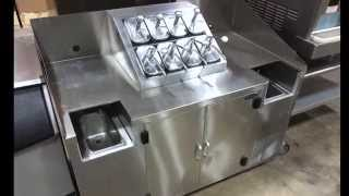 Norlake ZR112SSSOM 2DQ Refrigerated Topping:Syrup Counter For Sale