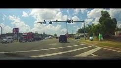 Driving through Perry, Florida