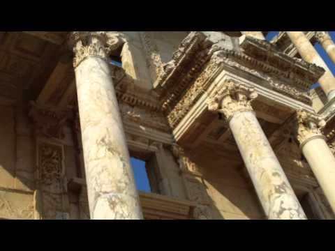 Ephesus library area
