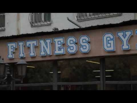 реклама fitness gym