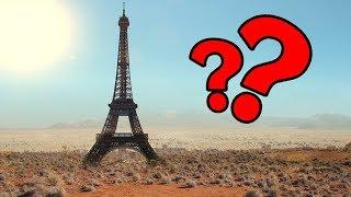 ¿Was Macht Der EIFELTURM In Der Wüste CHINAS?