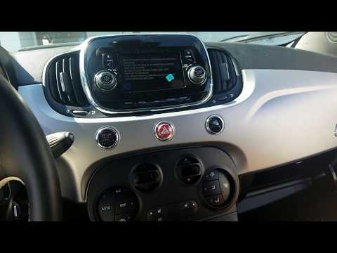 How To Remove Radio / Navigation / Display From Fiat 500e 2018 For Repair.