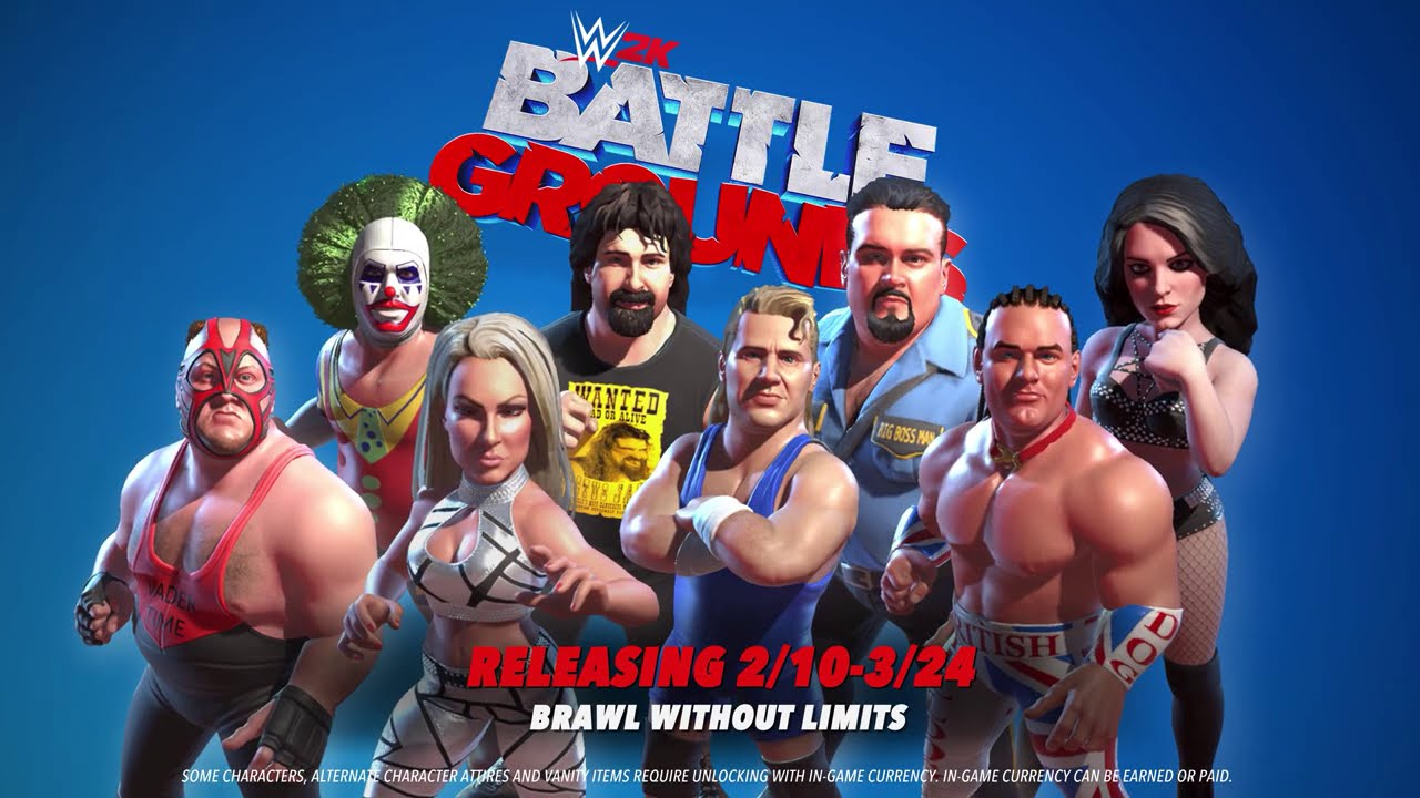 Mr. McMahon, Paige, Ricky Steamboat head to WWE 2K Battlegrounds