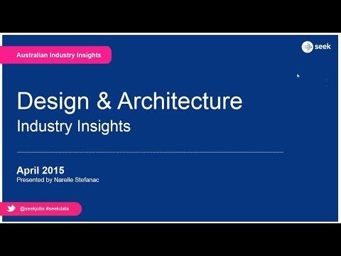 SEEK webinar playback: Industry insights – Architecture & Design (AU) – April 2015