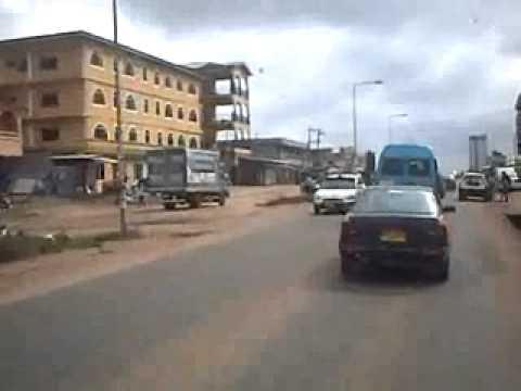 from Dansoman roundabout to Mataheko