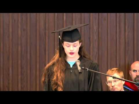 Trinity School at River Ridge Commencement 2015 - Jessica Whittenburg