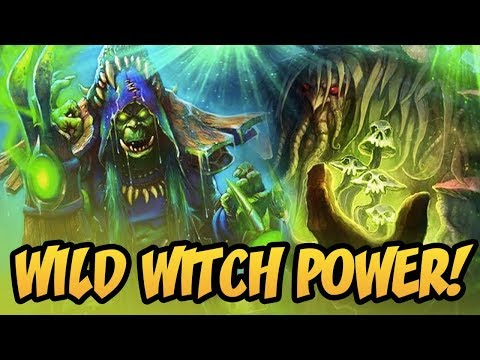 Wild Witch Power! | Rastakhan's Rumble | Hearthstone