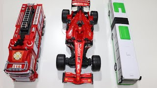 My RC Toys Collection - RC F1 Racing Car - RC Fire Truck - RC BUS - Chatpat toy tv