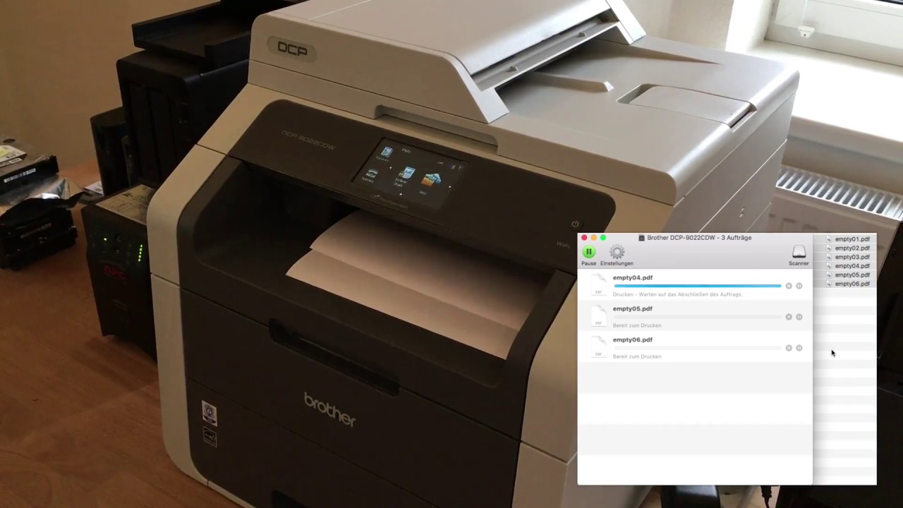 BROTHER DCP-9022CDW PRINTER DRIVER (2019)