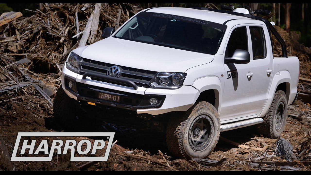 volkswagen amarok by harrop 4x4 centre youtube. Black Bedroom Furniture Sets. Home Design Ideas