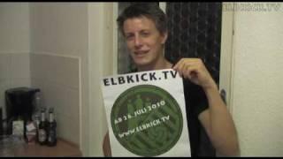 """ELBKICK.TV - Ansage von Ole (NTSV) """"im zweifelhaften Zustand"""""""