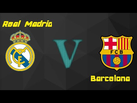 FIFA 17 Real Madrid V Barcelona w/ Friends