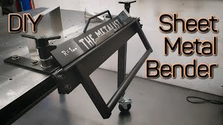DIY Sheet Metal Bender - Bending (Plans available)
