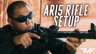 AR15 Rifle Setup for Beginners // RealWorld Tactical