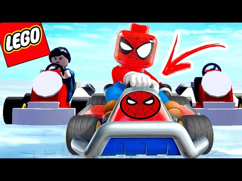 LEGO Marvel Super Heroes EXTRAS #05 - HOMEM-ARANHA NO KART AÉREO (Gameplay PT-BR Português)