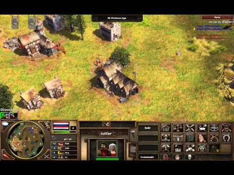AoE3 VOD: Dutch vs. British on Great Plains w/ commentary