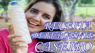 Como Fazer DETERGENTE CASEIRO – 12 lts com menos de R$ 10,00