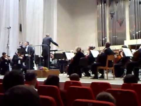People's artist of Russia Garkalin. Conductor Alevtina Ioffe. 28.10.11