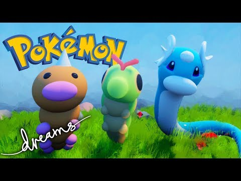 Dreams PS4 - Pokemon 3D Remake - PlayStation 4 Gameplay