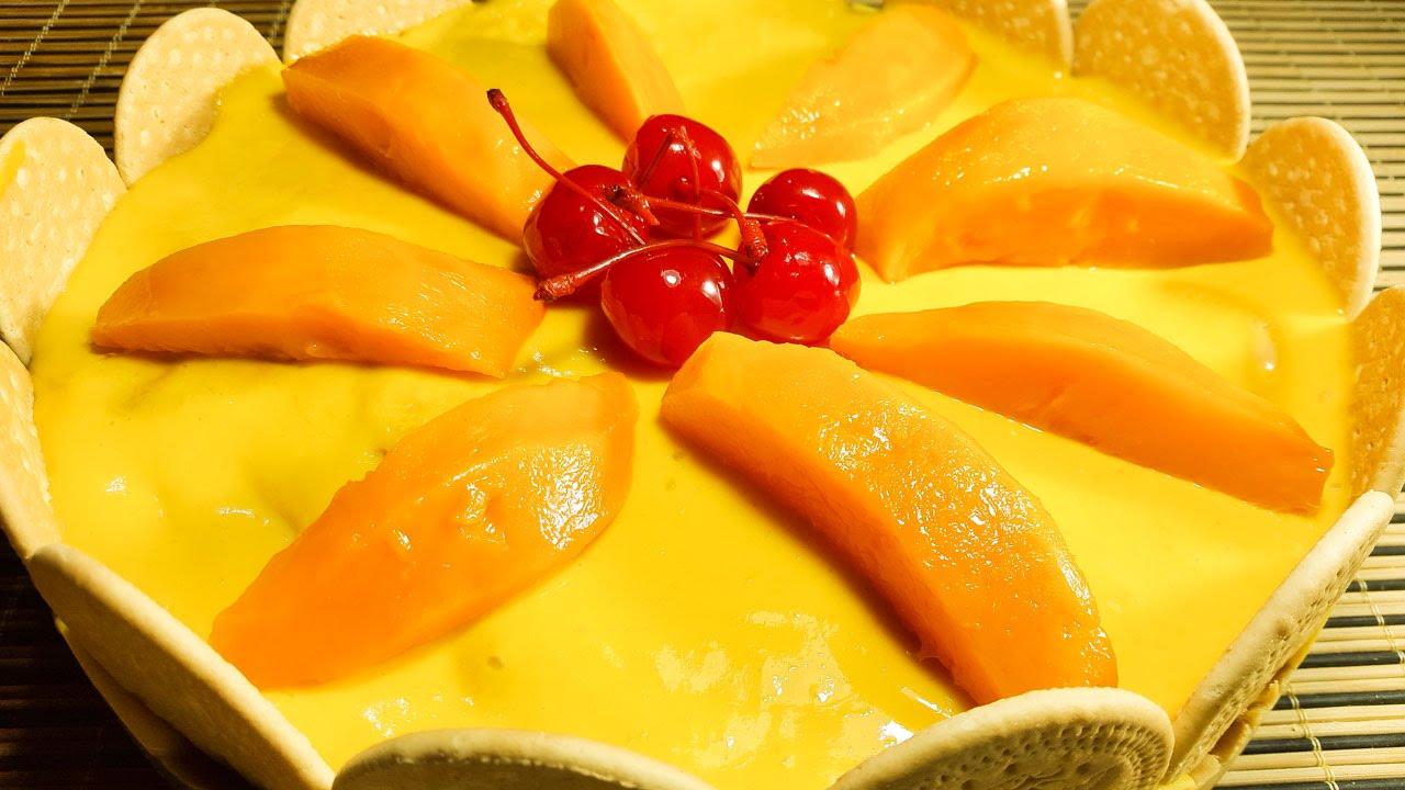 Carlota de mango f cil de preparar cocinando con angel for Cocinar con mango