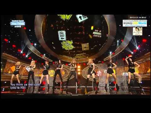 [HD] 150823 SNSD (소녀시대) - You Think @ INKIGAYO