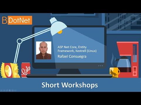 Short Workshops - ASP Net Core, Entity Framework, Kestrell (Linux)