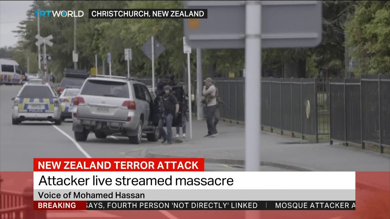 New Zealand terror attack - YouTube